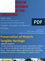 LMValerio Lec Preservation of Historic Tangible Heitage