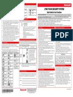 Alarm Honeywell L5100 Rev6 Quick Guide