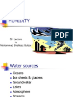 5th Lecture - Humidity