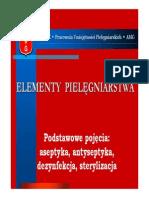 podstawowe pojęcia aseptyka antyseptyka dezynfekcja sterylizacja.pdf