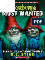 Goosebumps Most Wanted 1 Planet of the Lawn Gnomes