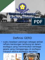 GastroEsofageal Reflux Disease (GERD)