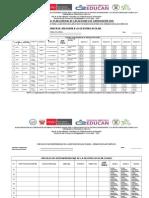 Cronograma Oficial de Acciones de Capacitación 2015