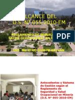 Herramientas de Gssom - d.s. 055-2010-Em