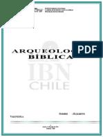 Informe Arqueo_Biblica Eli Valenzuela