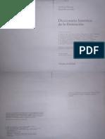 Ferrone-Roche. Diccionario Histórico de La Ilustración