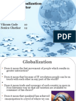 Impact of Globalization on Service Sector Final