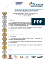 Convocatoria Trofeu Chico Piscina 2015