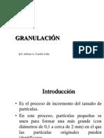 Granulación Humeda