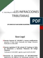 03.03.2015 Principales Infracciones Segun El Codigo Tributario