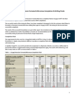 Report Potassium Formate & Micromax Fluids to 424 Deg F