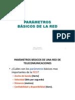 5. Parametros de La Red