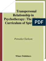Petruska Clarkson-The Transpersonal Relationship in Psychotherapy (2005)