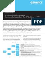 Managing Volatility Through Inventory Optimization