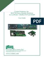 BAS-700 Hardware User Guide