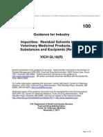 GFI #100 - GL18(R) Residual Solvents (2)