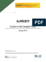 Arizona State Sample Tests