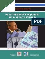Mathématiques Financières -cours et exercices corrigés(Edition 2001)