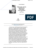 Althusser Philosophy and the Spontaneous Philosophy of the Scientists