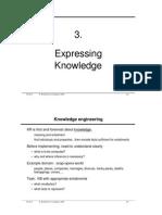 03.ExpressingKnowledge Intelligenza Artificiale