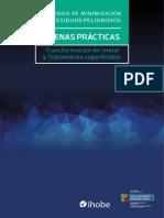 Estudios de Minimización de Residuos Peligrosos. Buenas Practicas 2015