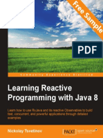 Learning Reactive Programming with Java 8 - Sample Chapter