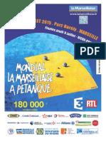 Dossier de presse Mondial la Marseillaise 2015 (Marseille)