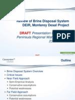 MPRWA DEIR Review 3 Brine Disposal