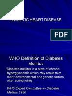 Diabetic Heart Disease