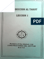 Introduccion al TAROT BOTA