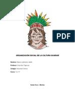 Organización Social de La Cultura Guaraní