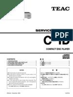Teac-C1D cd