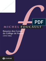 Michel Foucault - Resumo Dos Cursos Do Collège de France (1970-1982) - Zahar (2013)