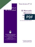 El Mercado Electrico Argentino
