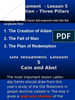 Old Testament Lesson 5 Power Point Cain and Abel