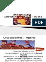 Exposición de La Estructura Del Estado Peruano - Diplomado..[1]