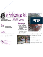 Laminated Family Book by Samantha Sibbett