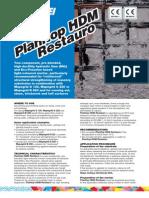 Planitop HDM Restauro