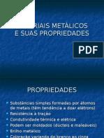 Materiais Metálicos