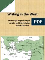 Aegean Scripts