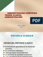 Teor Adm Cientìf y Clasic