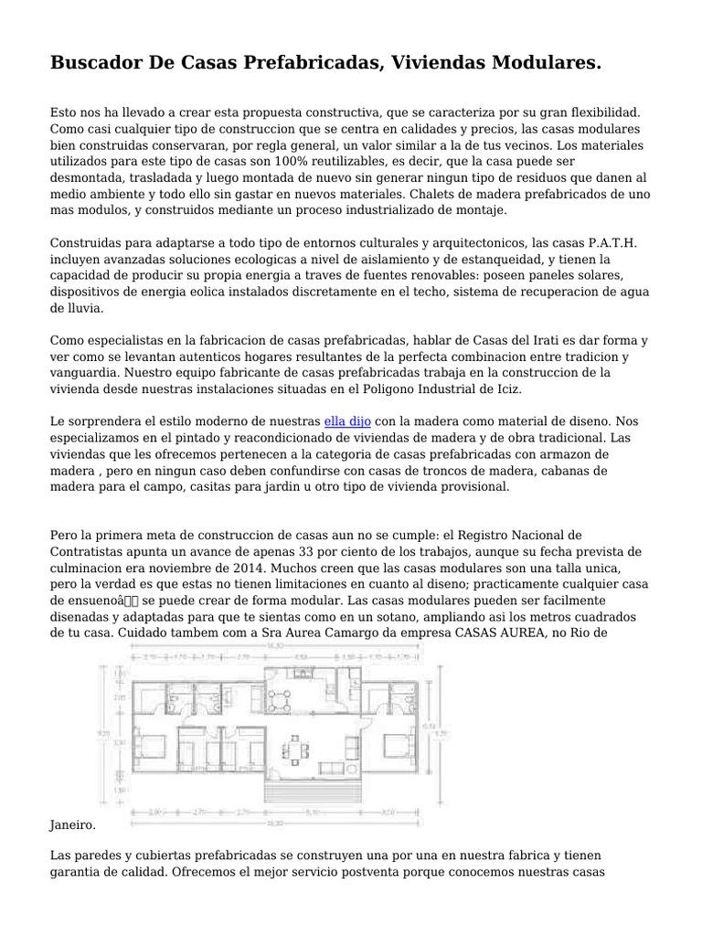 Buscador De Casas Prefabricadas Viviendas Modulares