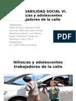 - Responsabilidad social Niños que trabajan en la calle..pptx