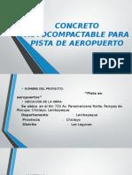 Concreto Autocompactable Para Pista de Aeropuerto