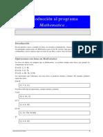 Listas y Vectores Con Mathematica
