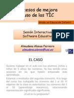 SESIÓN SOFTWARE EDUCATIVO GRADO EN EDUCACIÓN INTANTIL