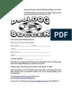 Borger Bulldog 3v3 2015