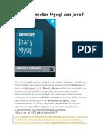 Como Conectar Mysql Con Java