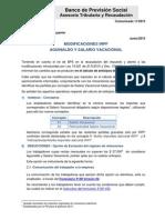 2015 - Comunicado 11 - Modificaciones IRPF Julio 2015