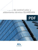 Vidrio Control Solar